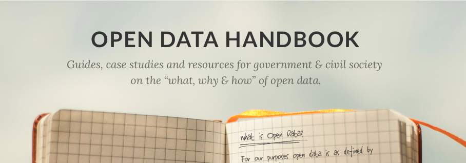 Making data social, now in the Open Data Handbook