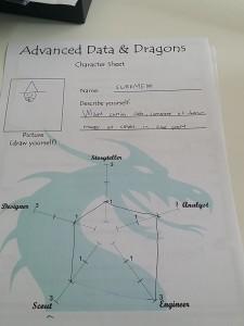 School of Data D&D Character Sheet
